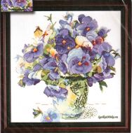 Pansy Floral 2771 / Анютины Глазки