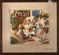 Doll House Tea Party 03799 / Чаепитие в кукольном доме
