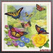 Butterfly Garden 45438 / Сад бабочек