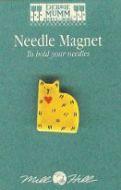 Needlework Magnet Quilt Cat 43125 / Магнит Кошка