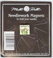 Needlework Magnet Violets MHMAG11 / Магнит Виолетки