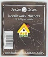 Needlework Magnet Sunflower Birdhouse MHMAG3 / Магнит  Скворечник