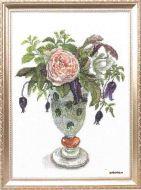 Glamis Castle FU-1633 / Белая роза Дэвида Остина