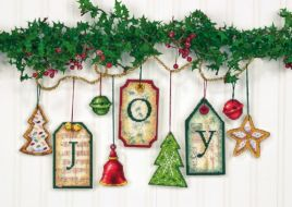 Joy Tag Ornaments 70-08849 / Орнаменты Радость