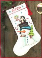 Jolly Trio Stocking 70-08937 /  Сапожок Веселое трио