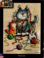 Yarn Cats 2840 / Пряжа котят