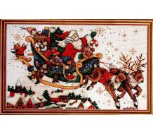Christmas Sleigh 5991 / Рождественские сани