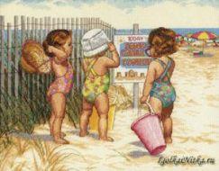 Beach Babies 352160 / Девочки на пляже (США)